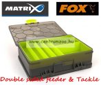 Fox Matrix Double sided feeder & Tackle box szerelékes doboz (GBX001)