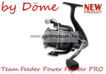 By Döme TEAM FEEDER Power Fighter 4000 (2505-540) elsőfékes feeder orsó