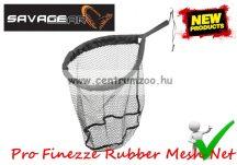 MERÍTŐ Savage Gear Pro Finezze Rubber Mesh Net Large Floating 46x56cm úszó merítőháló   (57575)