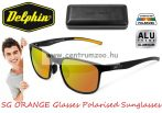 Delphin SG Orange Glasses Polarised Sunglasses  - polar napszemüveg narancs lencsével (920121290)