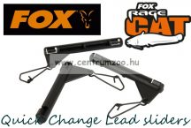 Fox Rage Catfish Quick Change Lead sliders and links 3db (BAC015)