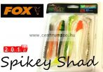 Fox Rage Spikey Shad Mixed Colours 12cm prémium gumihal 5db (NSL834)