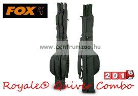FOX Royale® 5-rod Quiver Combo inc 3x12ft Jkt bottartó táska (CLU193) 360cm-es 2r bojlis botokhoz