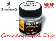 BROWNING Match & Feeder Dip clear Sweet Vanilla 30ml tömény dip (3900003) - vanília