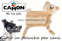 Camon Gioco in peluche per cani – Orso con scratch e squeaker - recsegő játék 24x19cm (AH406/B)