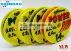 Drennan power gumi 0,65mm VÍZTISZTA 14LB erősség (LCPG143  82055-067)