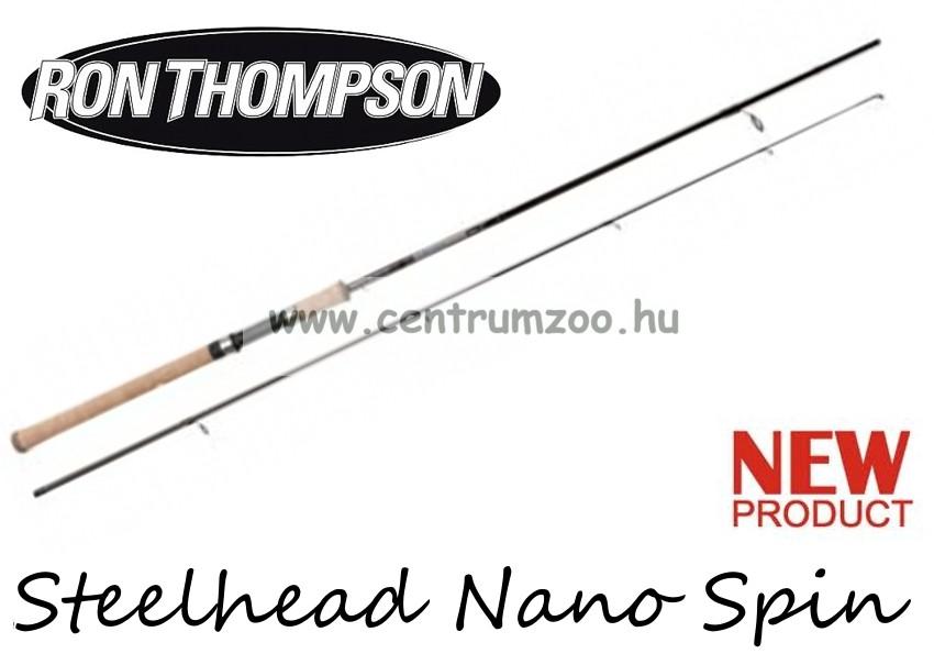 RON THOMPSON Steelhead Nano Spin 8  240cm 7-28g - 2sec pergető bot (48277) 4c8c3cd7c9