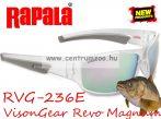 Rapala RVG-236E Revo Magnum Series szemüveg - Polarized Silver Mirror