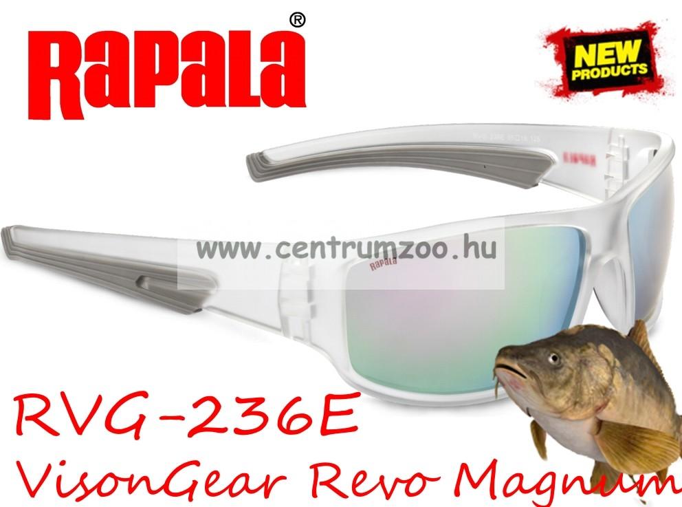 Rapala RVG-236E Revo Magnum Series szemüveg - Polarized Silver Mirror 1ae1bd106f