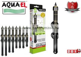 Aquael Gold Heating automata hőfokszabályzós vízmelegítő  150W (   )