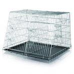 Trixie Dog Transport Dupla Box összecsukható fém szállító box 2 kutyáknak 93*68*79cm (TRX3930)