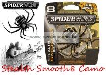 Spiderwire Stealth Smooth8 150m 0,08 mm camo fonott zsinór (1476049)  7,3kg