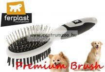 Ferplast Professional Premium 5762 Double szőrzet ápoló kefe prémium (85762799)