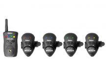 Delphin ROLER SHOCK 4+1 Electronic bite indicator (900022602) elektromos kapásjelző szett