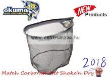 MERÍTŐFEJ  Okuma Match Carbonite Net Shake'n Dry 18'' 45x35x30cm  (54179)