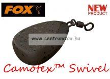 Fox Camotex™ Flat pear swivel lead 2.5oz 70gram (CLD210)