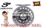Scierra TRAXION 1 FLY REEL #5/6 Black  prémium legyező orsó (50884)