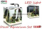 Aquael Shrimp Smart Nano LED akvárium komplett szett 19liter