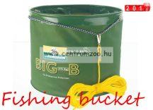 Cormoran Big-B horgászvödör összehajtható vödör, tároló (65-20200)