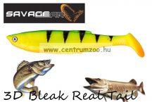 SAVAGE GEAR LB 3D Bleak Paddle Tail 13.2cm 17g 4pcs 03-Fire Tiger gumihal (48749) küsz utánzat