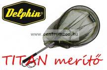 MERÍTŐ Delphin TITAN rablóhalas merítő gumírozott hálóval 45x35cm (942000270)