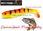 SAVAGE GEAR LB Cannibal Play Body  6,8cm gumihal Golden Ambulance (61842)