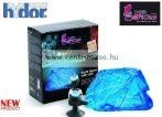 H2SHOW KIT - EARTH GEM kék zafír dekoráció + kék LED világító kristály akváriumba (KI1100)