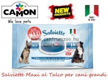 Camon Salviette Maxi al Talco per cani grandi Higenico törlőkendő - tisztít, fertőtlenít (LA001)