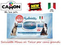 Camon Salviette Maxi al Talco Grandi Higenico nagyméretű törlőkendő 30x40cm - tisztít, fertőtlenít (LA001)