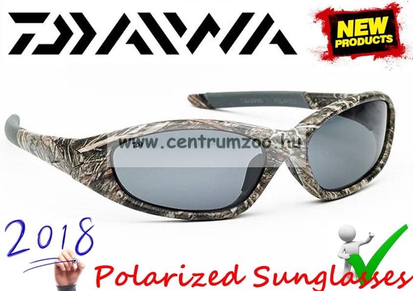 Daiwa Infinity Camo Polarized Sunglasses - GRY LENS 2018NEW modell  (ICPSG1)(209288) aacf9b14a1