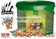 PondZoom Pond Flakes - Lemezes kerti tavi főeleség tavi haltáp 10liter (PZ3421) gazdaságos kiszerelés