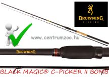 Browning BLACK MAGIC® C-PICKER II BOMB 2,50m 80g feeder bot (12220250)