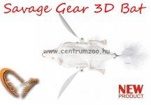 Savage Gear 3D Bat 10cm 28g Albino (58328) denevér formájú műcsali