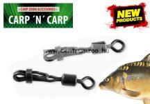Carp Zoom Quick Lock Swivel speciális forgós biztonsági gyorskapocs #4 10db (CZ2042)
