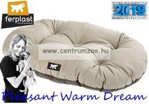 Ferplast Relax  65/6 Pleasant Warm Dream Grey pamut kutyapárna Siesta fekhelybe - szürke