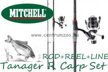 Mitchell Combo Tanager R Carp 13ft 3,00 lbs FR - bot, orsó, zsinór - komplett pontyhorgász szett (1446386)