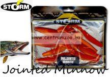 Storm Jointed Minnow PJM05 gumihal csomag 12,7cm 8db Red Orange (RDOR)