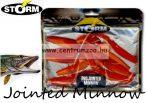 Storm Jointed Minnow PJM05 gumihal csomag 12,7cm 8db Red Orange (PDOR)