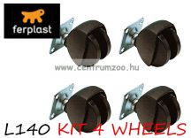 Ferplast kerékszett KETRECEKHEZ  4db  ( F72  L140 )