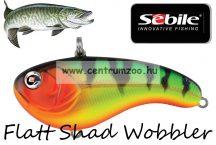 Sebile® Flatt Shad megbízható wobbler FS-066-SK - Fire Tiger Gold (1404996)