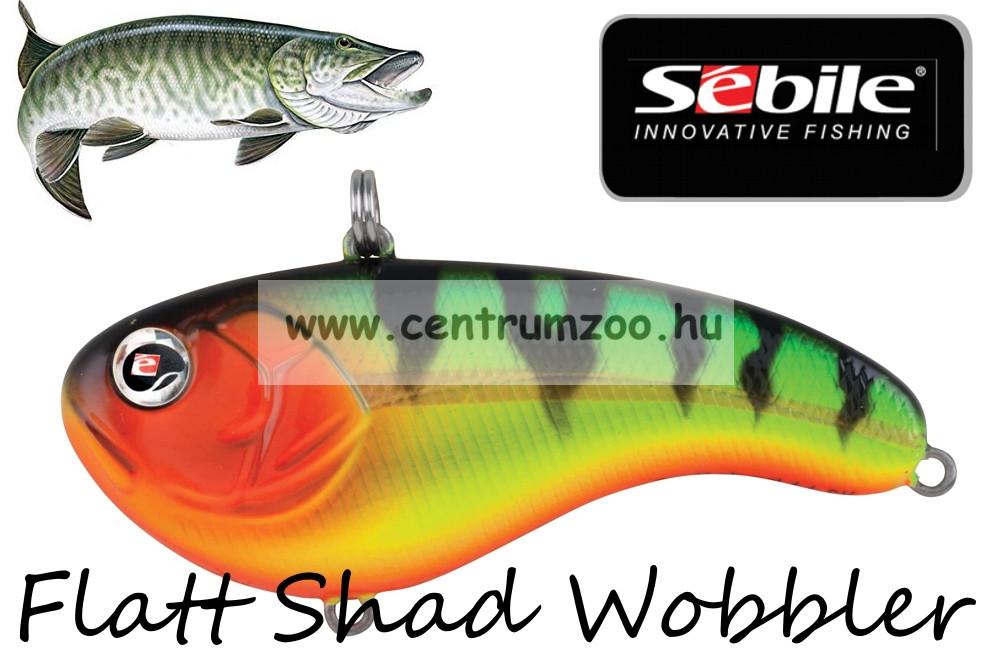 62063c2531 Sebile® Flatt Shad megbízható wobbler FS-066-SK - Fire Tiger Gold (1404996)