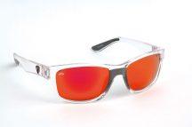 FOX Rage Sunglasses Clear Frame - Mirror Red Lense polar napszemüveg (NSN002)