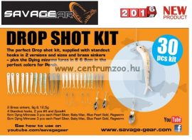 SAVAGE GEAR Dying Minnow Drop Shot Pro Pack Kit  Készlet 30 db-OS DROPSHOT SZETT (48753)
