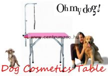 Professional Dog Cosmetics Pink Tabs kozmetikai, kiállítási asztal