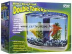 Penn Plax Betta Bow Front Double Tank Kit betta akvárium szett (019524)