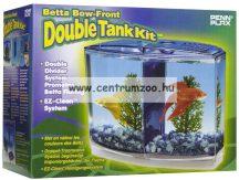 Penn Plax Betta Bow Front Double Tank Kit betta akvárium szett (019524)