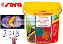 Sera Discus Granulat 10l - 4,2kg díszhaltáp - gazdaságos kiszerelés (00309)