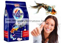 Panzi Pet 4 Season Sticks-Mix 10 liter tavi haltáp - ARANYHAL, KOI - ITT A SZEZON