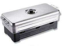 Cormoran-Daiwa XL nagyméretű házi halfüstölő 3 égős (FÜSTÖLŐFAPORRAL) (68-10005)
