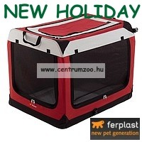 Ferplast Holiday  4 NEW szállító box 60x42x42cm (85722099)